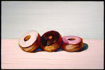 Wayne Thiebaud Dessert Painting - Mrs. Lundgren's Art Room