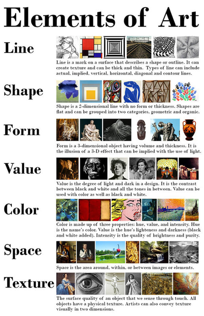 Elements Of Design Examples : Elements and principles of design mrs lundgren s art room