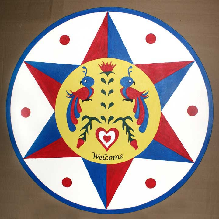 pennsylvania dutch hex signs mrs lundgrens art room